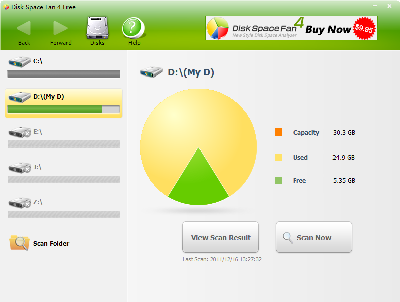 Disk Space Fan Pro 4.5.4.152 full